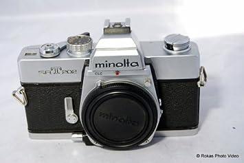 Amazon.com : Minolta Srt202 35mm Film SLR Camera Body Only Srt-202 ...