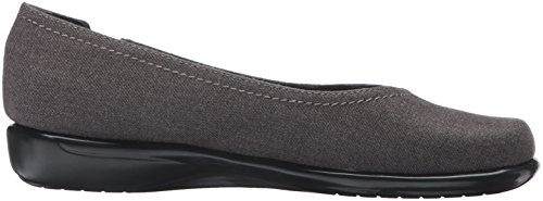 Aerosoles Womens Richmond Flat Grey Wool