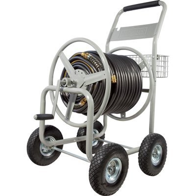 Roughneck Hose Reel Cart - Holds 400ft. x 5/8in. Hose