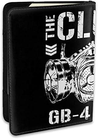 Bullet Club'sバレット・クラブ 新日本プロレスリング パスポートケース パスポートカバー メンズ レディース パスポートバッグ ポーチ 収納カバー PUレザー 多機能収納ポケット 収納抜群 携帯便利 海外旅行 出張 クレジットカード 大容量