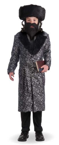 Forum Novelties Deluxe Rabbi Child Costume, -
