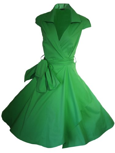 Green For Para Stars Vestido Básico Emerald Mujer The Look 8dxwSX6