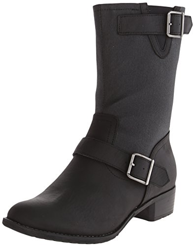 Hush Puppies Women's Lola Chamber Boot, Black Waterproof ...