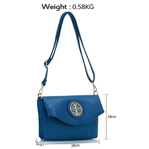Xardi London, Borsa a spalla donna medium Blue