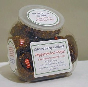 (Canterbury Cookies Peppermint Plops Horse Treat - 36Pc)