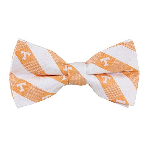 Tennessee Volunteers Checked Logo Bow Tie - NCAA College Team Logo