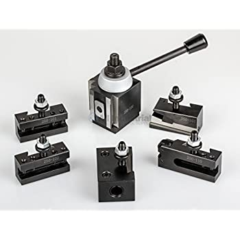 Image of Home Improvements AXA Piston Tool Post Set CNC High Precision Quick Change Lathe Holder 100 Series
