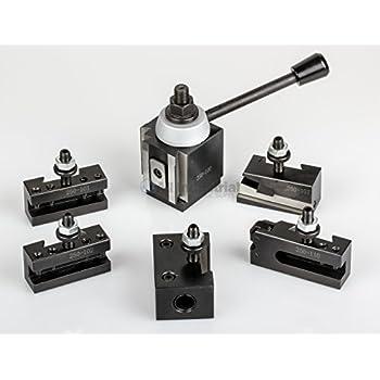 Home Improvements AXA Piston Tool Post Set CNC High Precision Quick Change Lathe Holder 100 Series