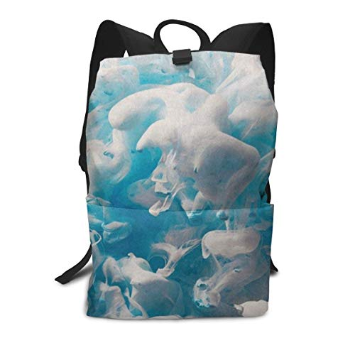 Funny Backpack Underwater World Jellyfish Fish Water Zipper School Bookbag Daypack Travel Rucksack Gym Bag For Man Women (Best Itunes Gift Card Offers)