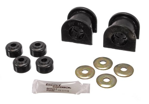 Energy Suspension Front Bushings - Energy Suspension 8.5118G 27mm Front Sway Bar Bushing Set for Toyota