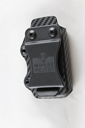 Multi Holsters Elite Single Magazine Holsters (S&W M&P Shield 9/40, Black Carbon Fiber)