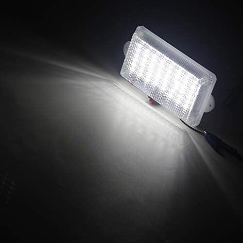 per Interni Auto Camion Colore Bianco ZONCENG1 Luce da soffitto Universale a 48 LED furgoni