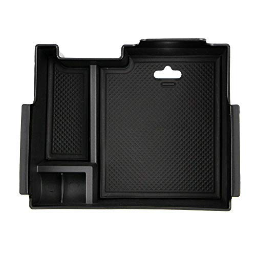 (Dreamseek Armrest Storage Box for Ford Explorer 2013 2014 2015 2016 2017 2018 Central Console Glove Tray)
