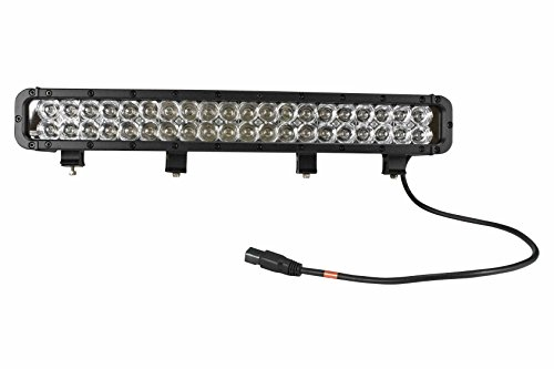 120W Extreme Environment LED Light Bar - 40, 3-Watt LEDs - 1250'L X 200'W Spot Beam - UL Certified(-Black-Spot) by Larson Electronics