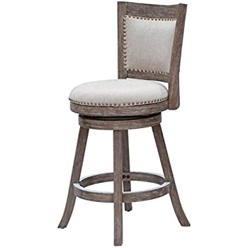 Amazon Com Bowery Hill 24 Quot Swivel Counter Stool In
