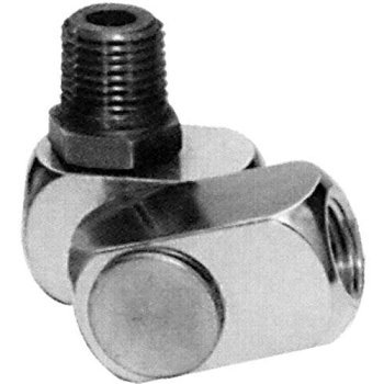 Dynabrade 95461 DYNASWIVEL Air Line Connector - 3/8'' NPT, Original, Double Pivot, 26-45 SCFM by Dynabrade
