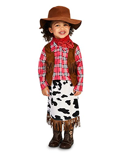 Jesse From Toy Story Costumes (Cowgirl Princess Toddler Costume 2-4T)