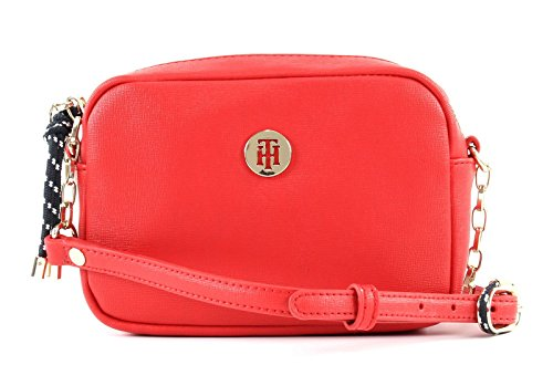Crossover Tommy TOMMY Buckle HILFIGER Red TOMMY TH HILFIGER qOwx1XH
