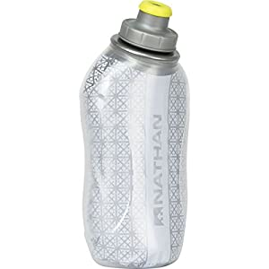 Nathan SpeedDraw Insulated Flask Water Bottle 18oz Silver, One Size