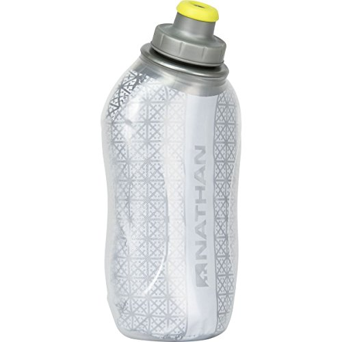 Nathan SpeedDraw Insulated Flask Water Bottle – 18oz Silver, One Size