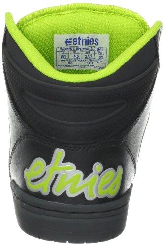 Etnies Womens Uptown 2.0 Smu Chaussure De Skate Gris / Jaune