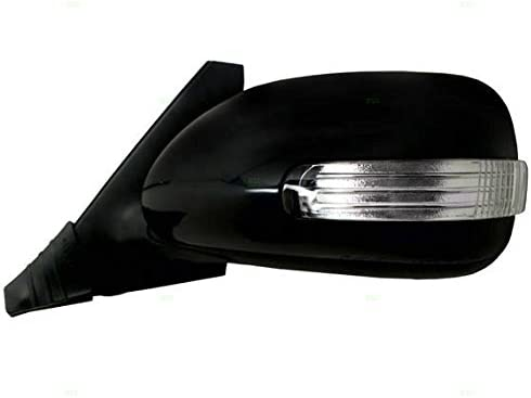 Drivers Power Side View Mirror with Signal Ready-to-Paint Replacement for Scion 87940-12D70