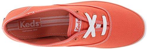 Keds - Zapatillas de Lona para mujer Rojo - coral