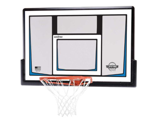 Lifetime 90086 50 Inch Shatterproof Fusion Backboard and Rim Combo Kit by Lifetime