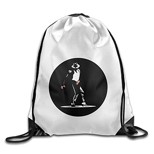 Bekey Michael Dangerous Drawstring Backpack Sport Bag For Men & Women For Home Travel Storage Use Gym Traveling Shopping Sport Yoga