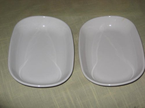 "Corning Ware Set of 2 - Vintage Corning Ware "" Sidekick "" Dishes P-140 - 4 1/2 x 6 3/4 Inches Each price tips cheap"