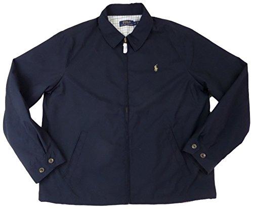 Polo Ralph Lauren Mens Lightweight Microfiber Windbreaker Jacket (L, - Microfiber Lightweight Jacket