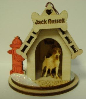 Ginger Cottages - K-9 Doghouse Jack Russell K9111 (Cottages Russell)