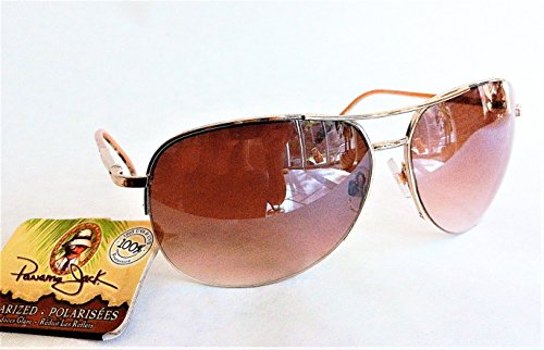 PANAMA JACK's Womens Aviator Sunglasses (1570) 100% UVA & UVB Protection+ FREE BONUS MICROSUEDE CLEANING - Sunglasses Panama Jack Polarized