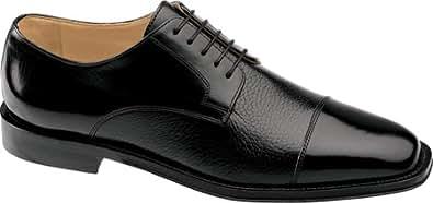 Johnston & Murphy Men's Corbett Ii Cap Toe Oxfords,Black,14 M