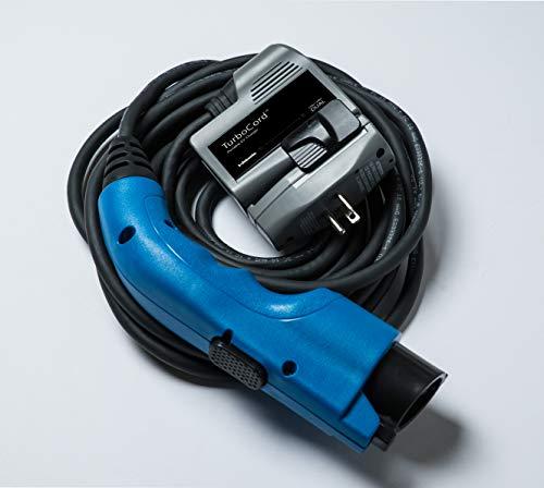 (TurboCord 240V Portable EV Charger (16 Amps), UL-Listed)