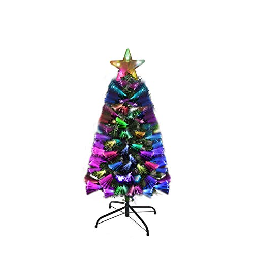 Holiday Essence Fiber Optic Christmas Tree 3 Foot