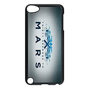 SUUER 30 Seconds To Mars Personalized Custom Plastic Hard CASE Back Fits Cover Case for iPod Touch 5, 5G (5th Generation)