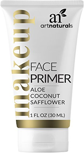 ArtNaturals Natural Face Makeup Primer Hydrating Foundation - (1 Fl Oz / 30ml) - Facial That Is Long Lasting - for Wrinkles, Oily Skin, and Pore Size - 2018 ()