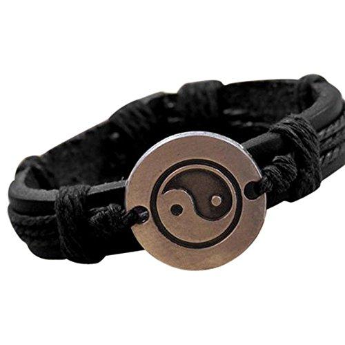 Pikolai Bracelet, Tai Chi Ying Yang Wristband Bracelet