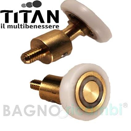 Titan rotellina per box doccia circolare 1pz.: Amazon.it: Casa e cucina