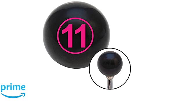 Pink Ball #11 American Shifter 103833 Black Shift Knob with M16 x 1.5 Insert