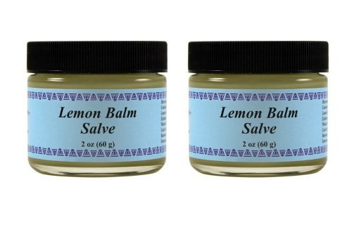 WiseWays Herbal Natural Skin Care Lemon Balm Salve, 2 Ounce, 2 Pack