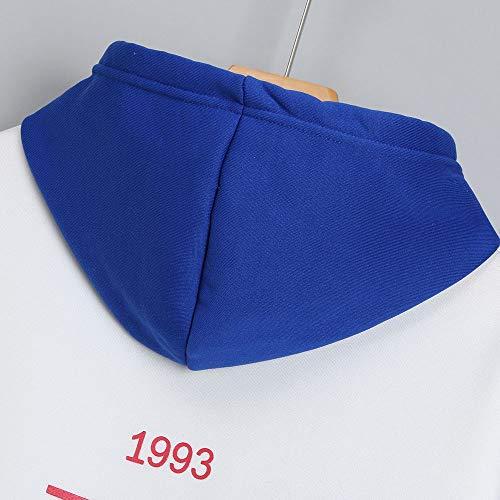 Hoodie Aimee7 Camisa Estampados de Tops Sudadera Cartas manga larga Azul Mujer drr7qEwx1