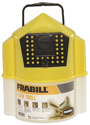082271145017 - Frabill Flow Troll Bait Container, 6-Quart, Yellow/White carousel main 1