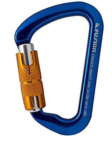 Fusion mosquet/ón de Escalada Belay Combo Pack Azul Oro
