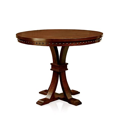 (BOWERY HILL Round Counter Height Dining Table in Oak)