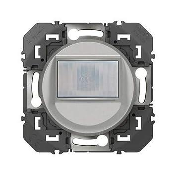 Legrand Dooxie - Detector de Movimiento (Aluminio, 2 Hilos): Amazon.es: Bricolaje y herramientas