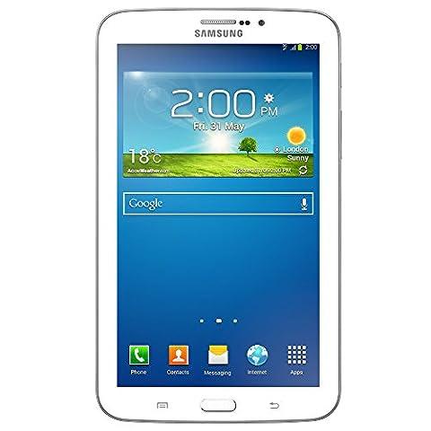 Samsung Galaxy Tab 3 7.0 3G T211 8GB-White unlocked phone (Samsung Galaxy Phone 7inch)