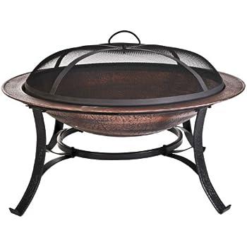 Amazon Com Cobraco Fb6132 30 Inch Round Cast Iron Copper