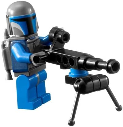 Lego Star Wars Mandalorian Trooper Minifigure with Pod Mounted Gun